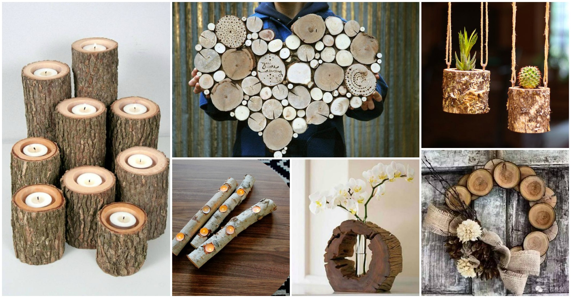 15 Unique Diy Log Crafts