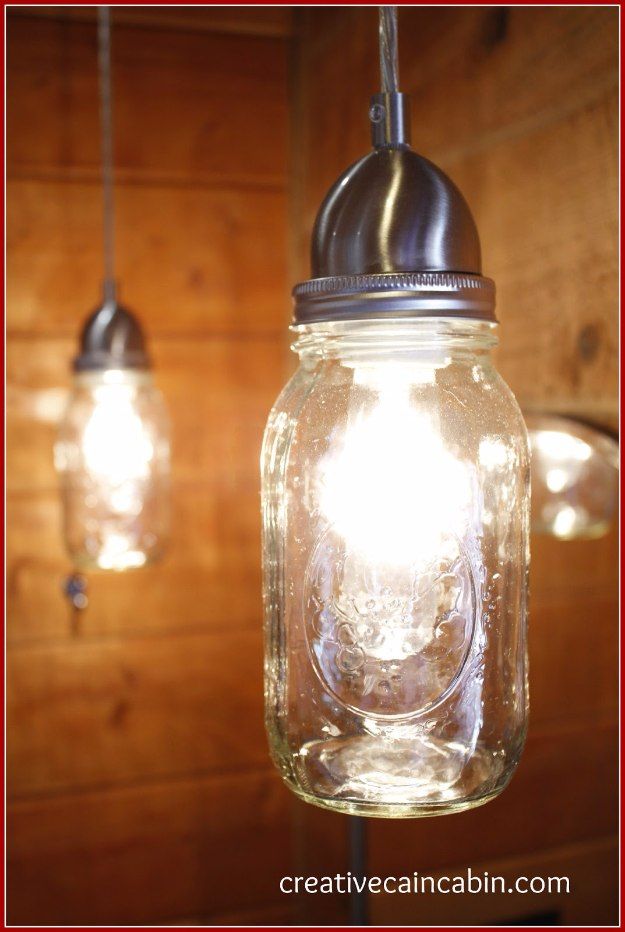 20 Diy Mason Jar Lighting Ideas