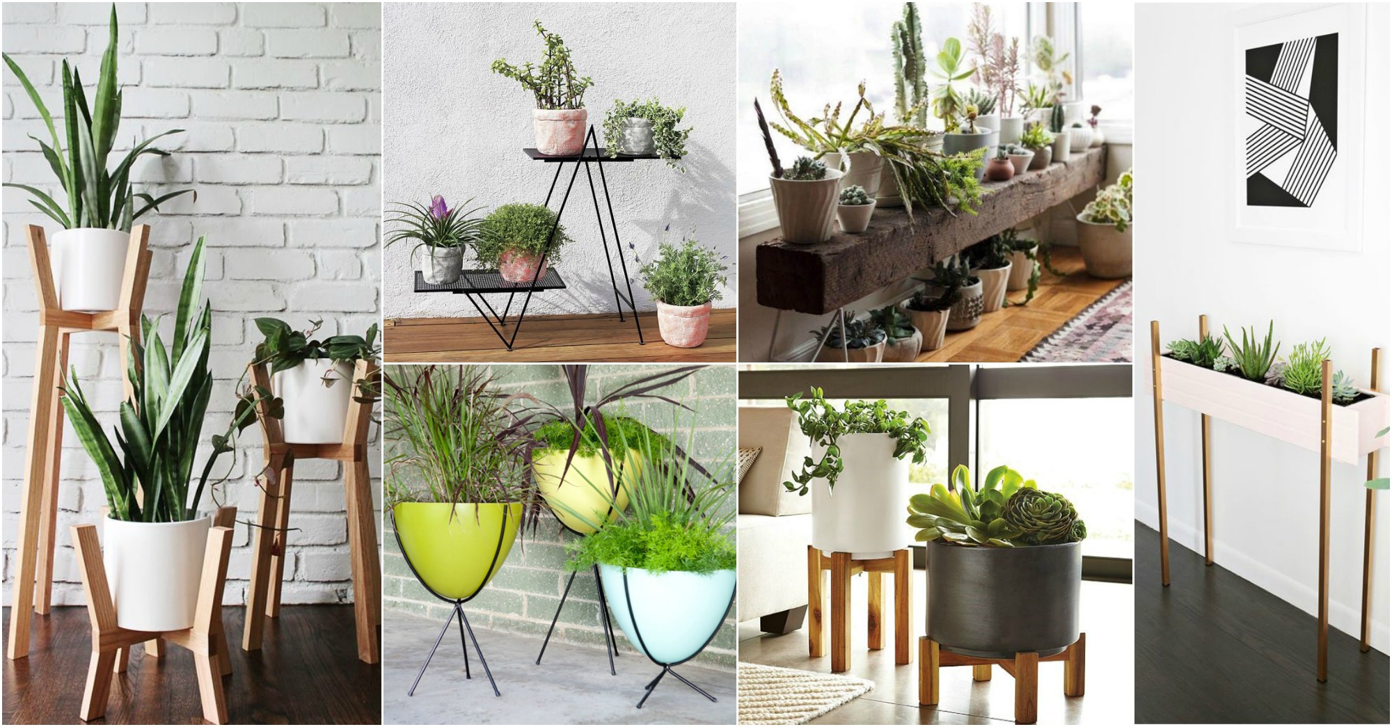 diy-modern-planter-stands