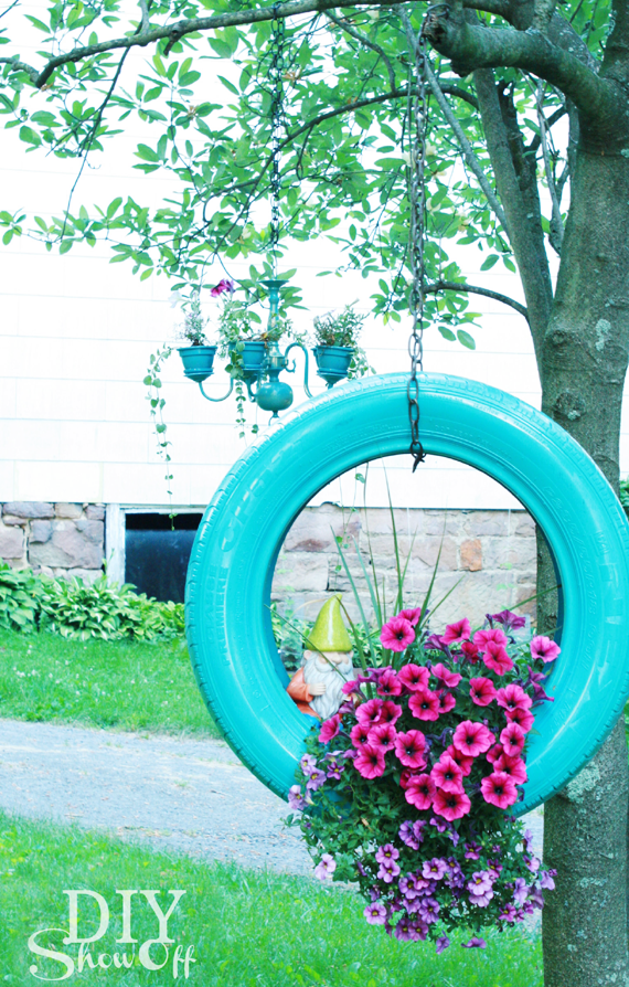 15 DIY Amazing Old Tire Reuse Ideas