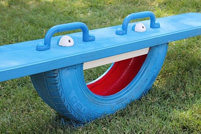 diy old tyres reuse 7