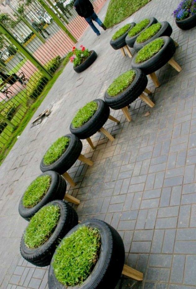 diy old tyres reuse 8