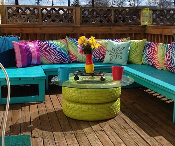 15 Creative Garden Ideas You Can Steal: 15 DIY Amazing Old Tire Reuse Ideas