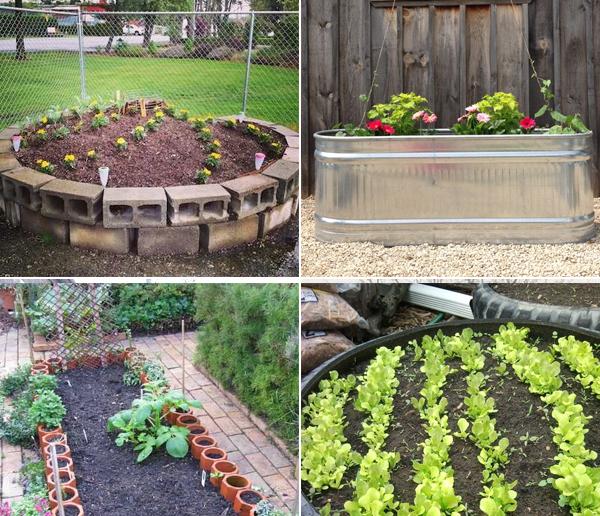 Cheap Ways To Do Your Garden: 15 Cheap & Easy DIY Raised Garden Beds