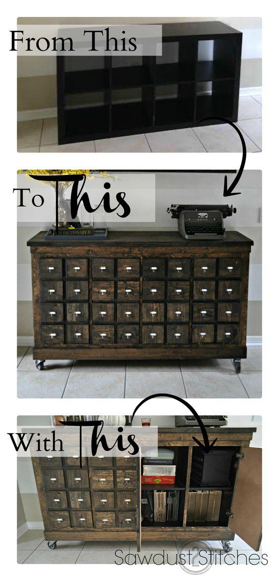 diy repurpose furniture 13