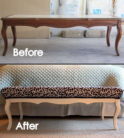 diy repurpose furniture 14