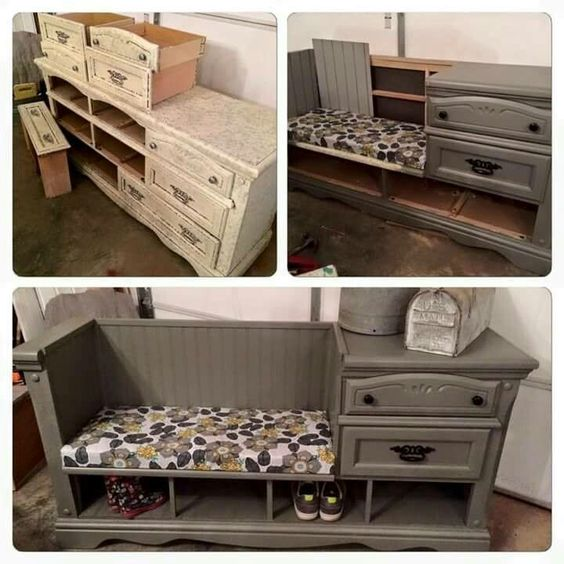diy repurpose furniture 2