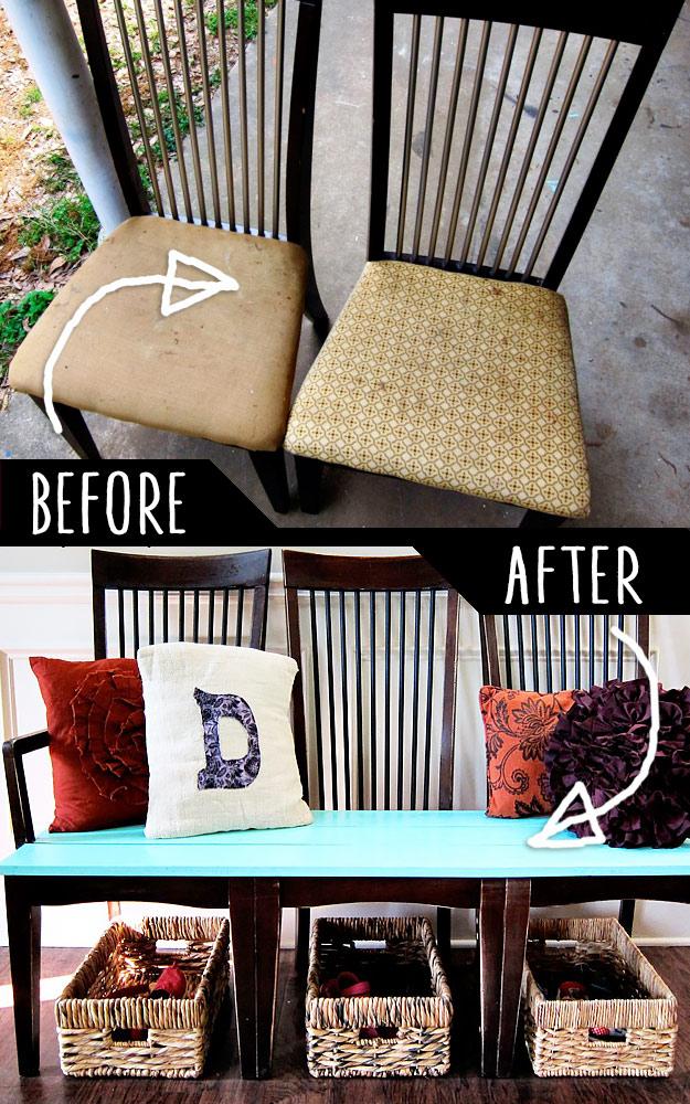 diy repurpose furniture 6