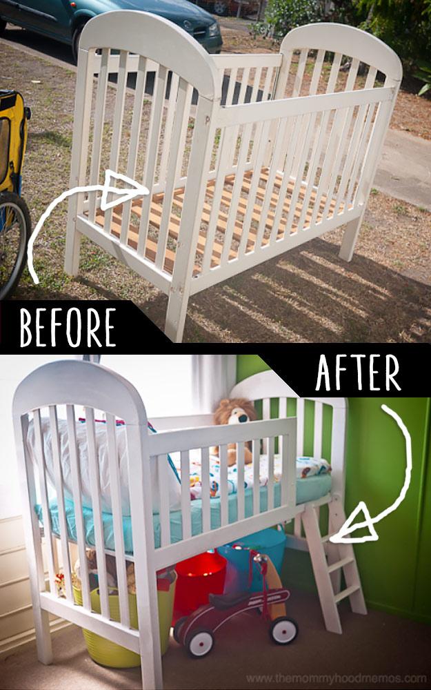 diy repurpose furniture 8