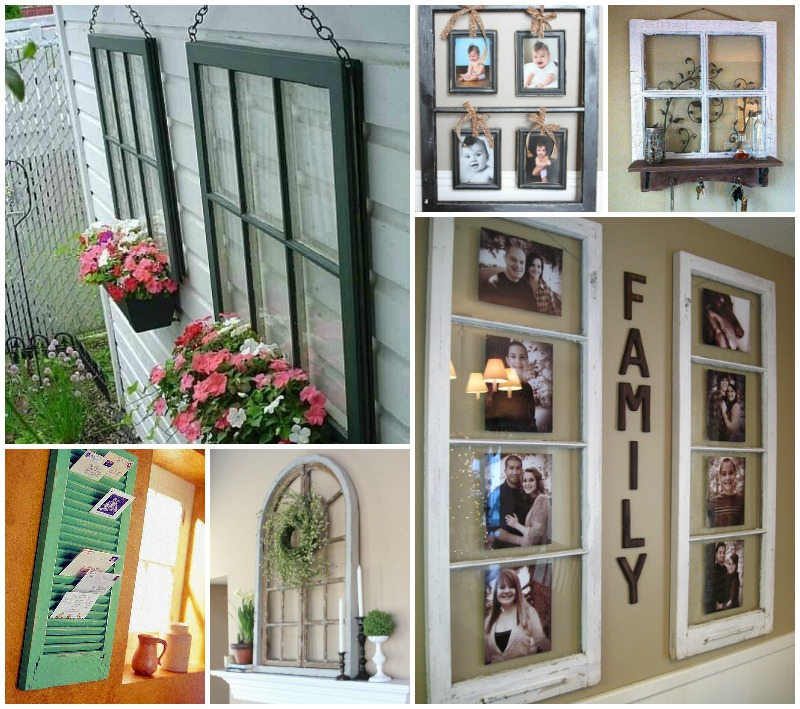 37 Awesome Ways To Reuse Old Windows
