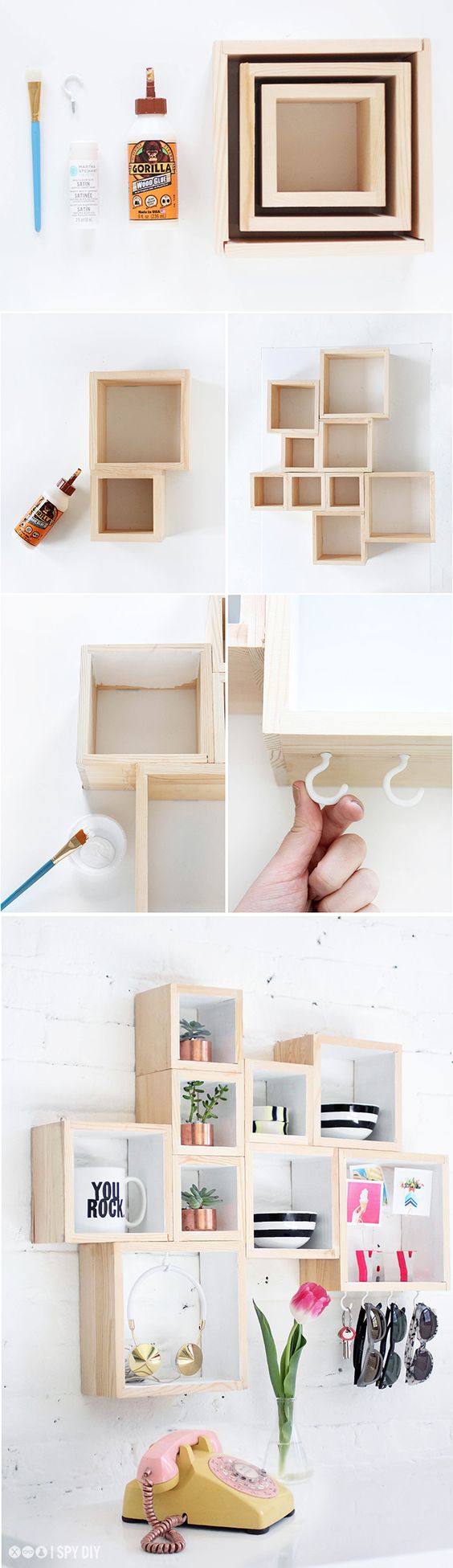 diy shelves build home 11