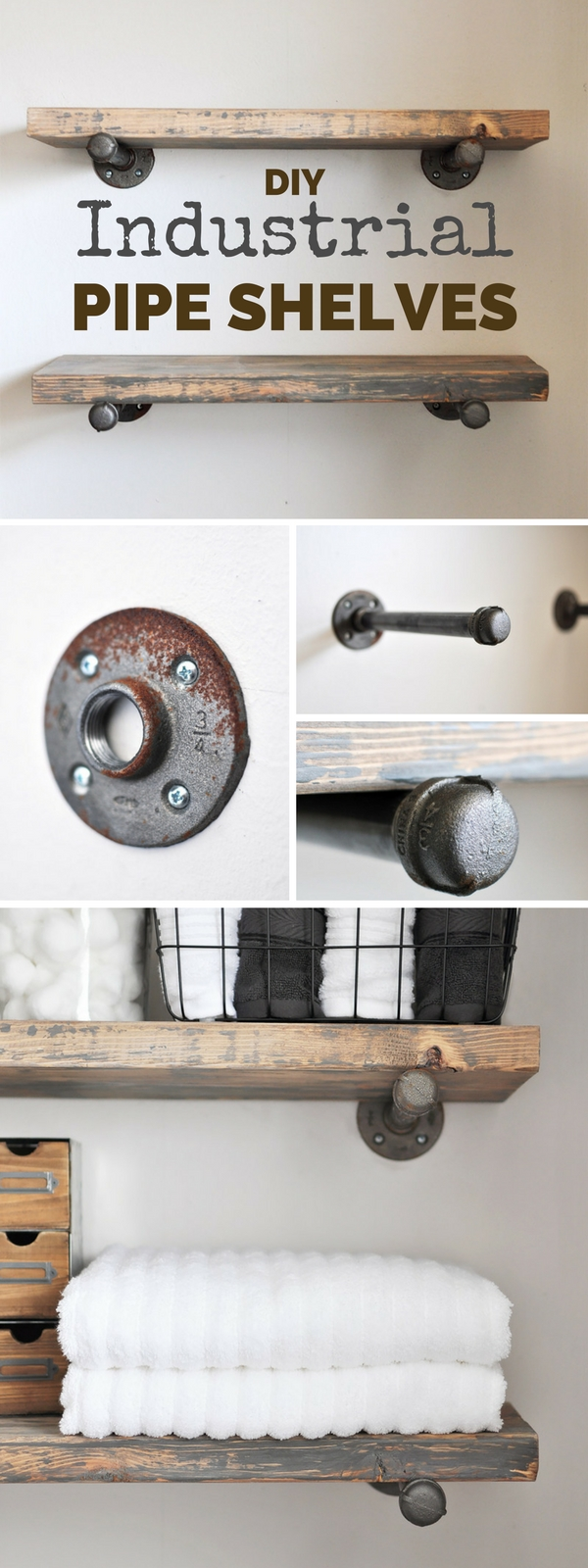 15+ Brilliant DIY Shelves That Will Beautify Your Home