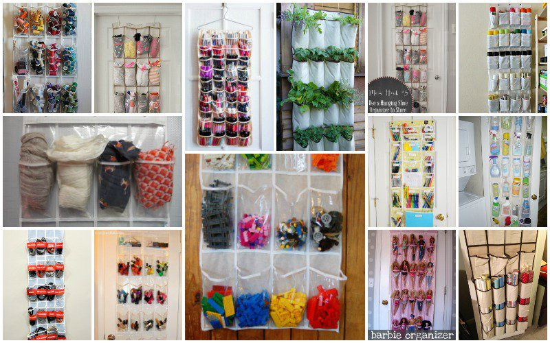 Creative Uses For Shoe Organizers