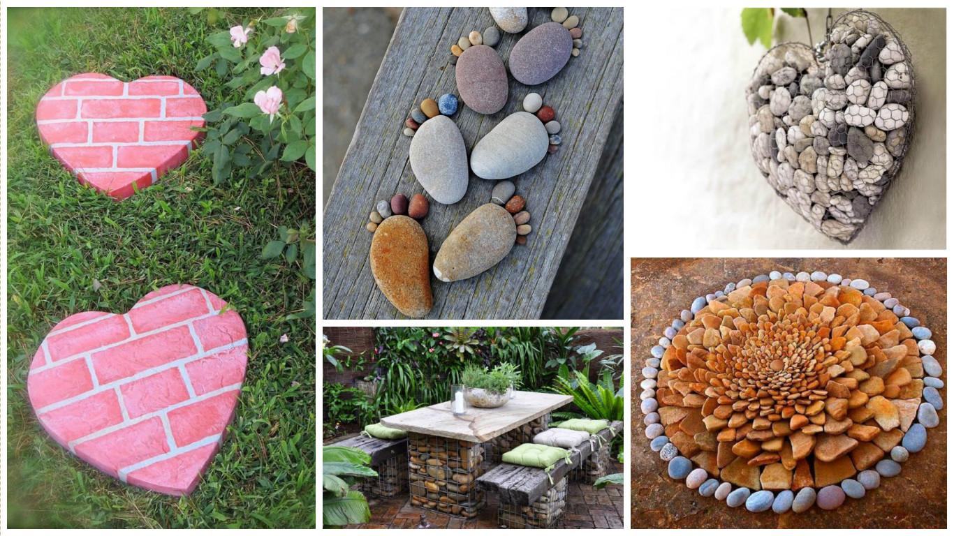 Home Design Ideas Decorating Gardening: 10+ DIY Stone Decor Ideas For Garden Transformation