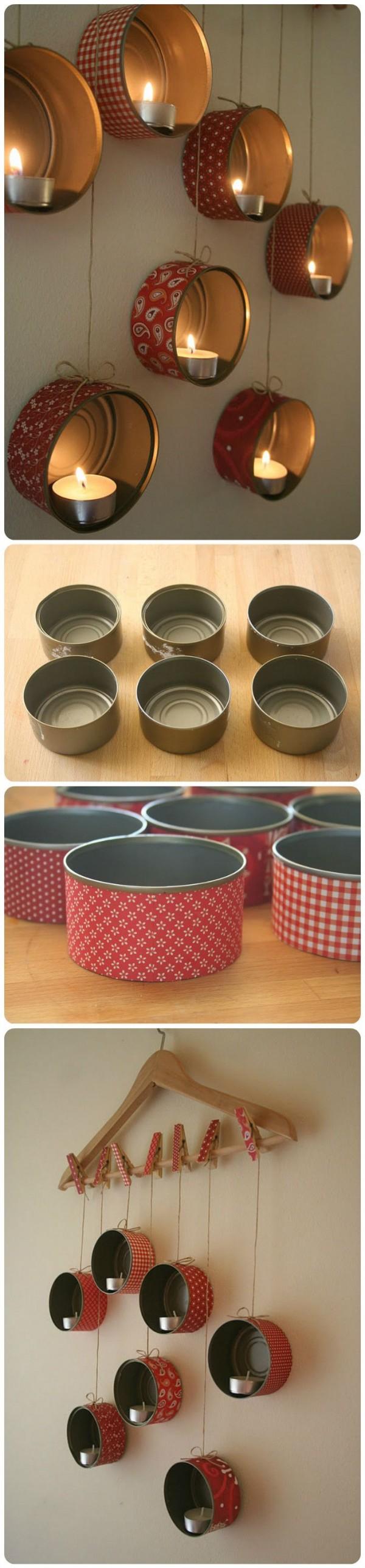 13 diy tin cans into adorable decor ideas - Diy tin can ideas ...