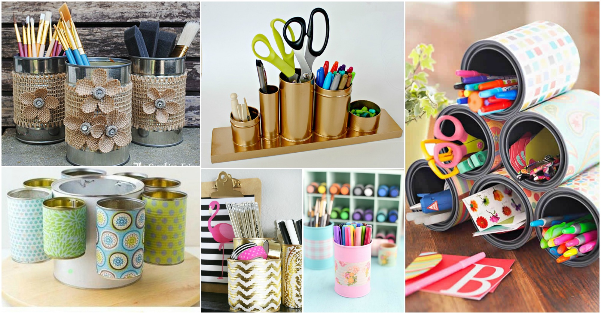 15 awesome diy ideas to transform tin cans into practical for Tin can diy ideas