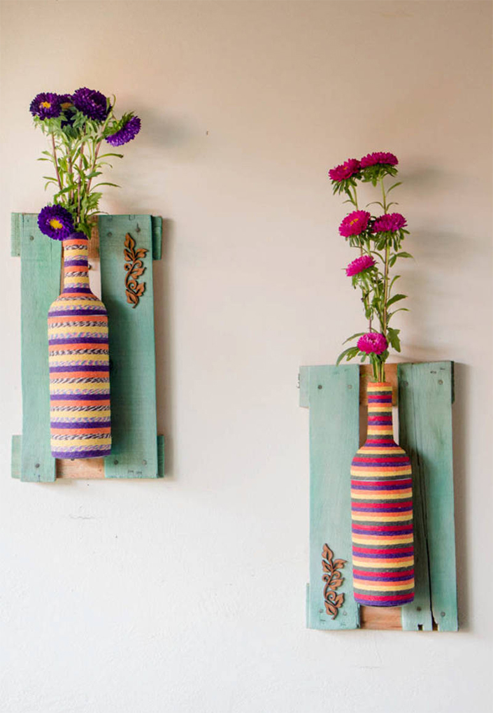 Creative DIY Vases for Decorating your Home on a Budget