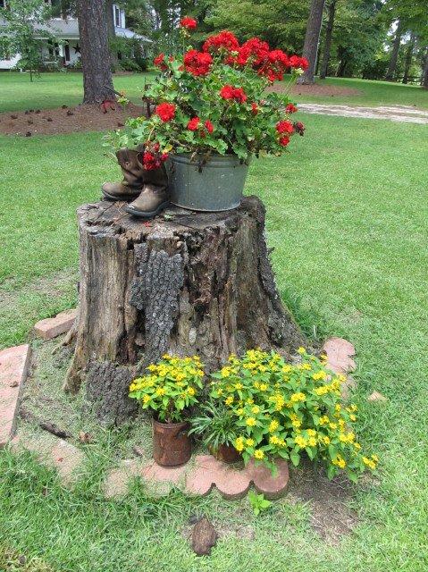 diy wooden decor garden 1