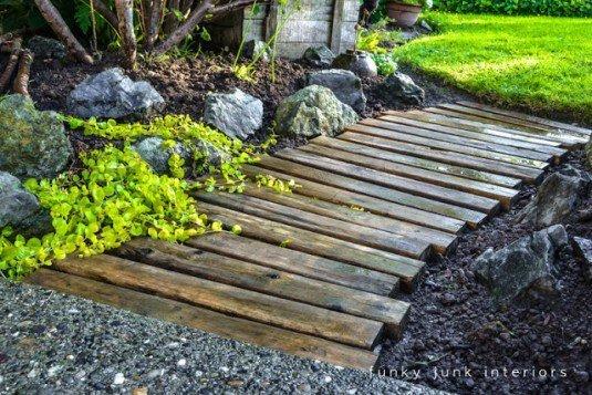diy wooden decor garden 14