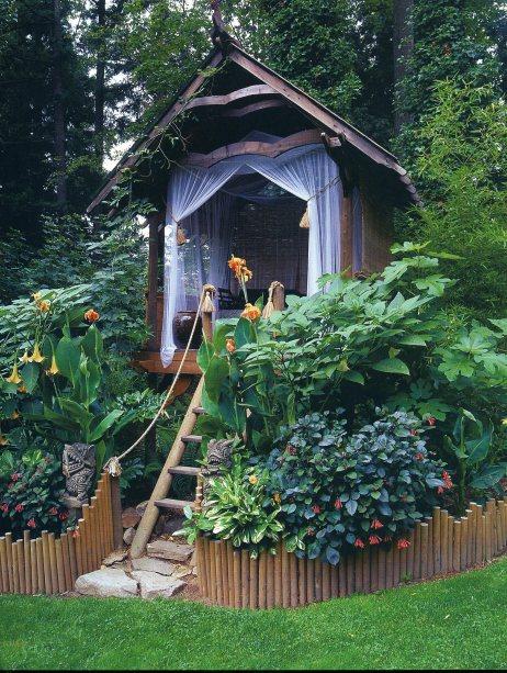 diy wooden decor garden 7