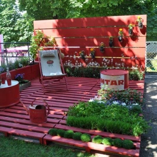 diy wooden decor garden 9