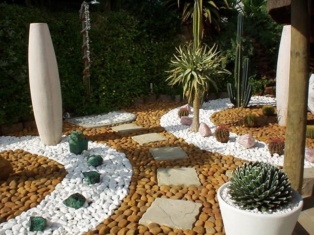fabulous pebble garden design ideas