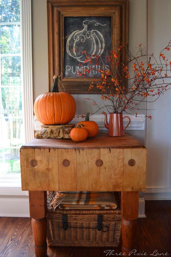 fall decorating 1