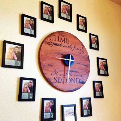 family-photo-wall-clock-