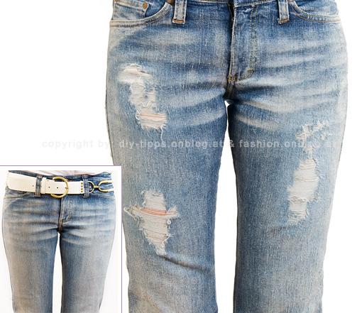 fashion jeans homemade