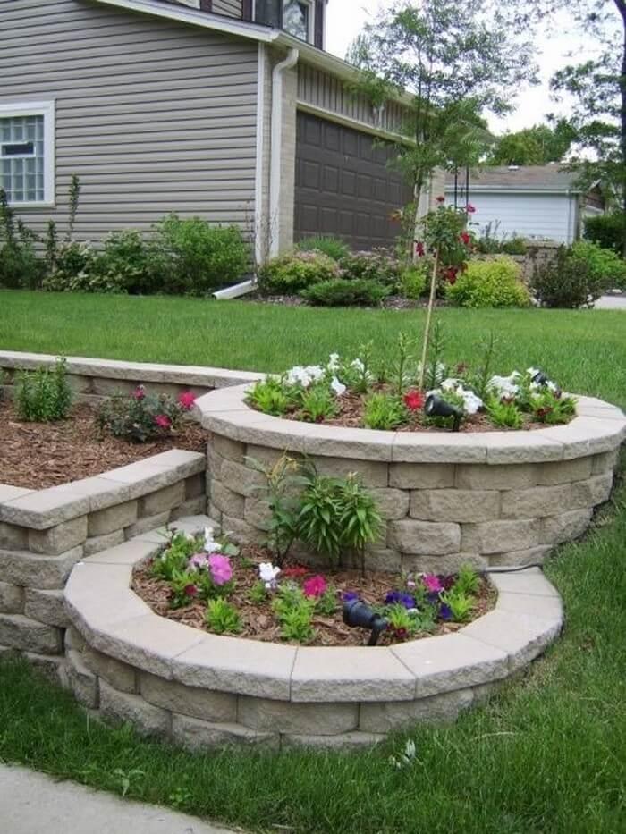 flower beds 1