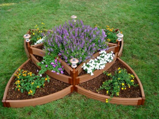 flower beds 12