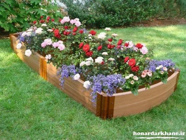 flower beds 13