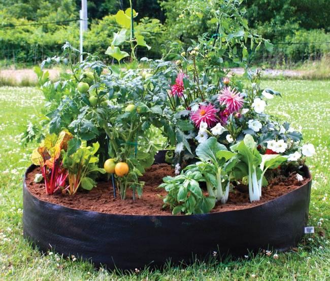 flower beds 16