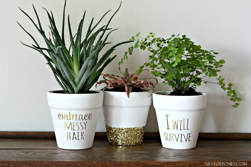 10 Awesome Ideas To Decorate Flower Pots