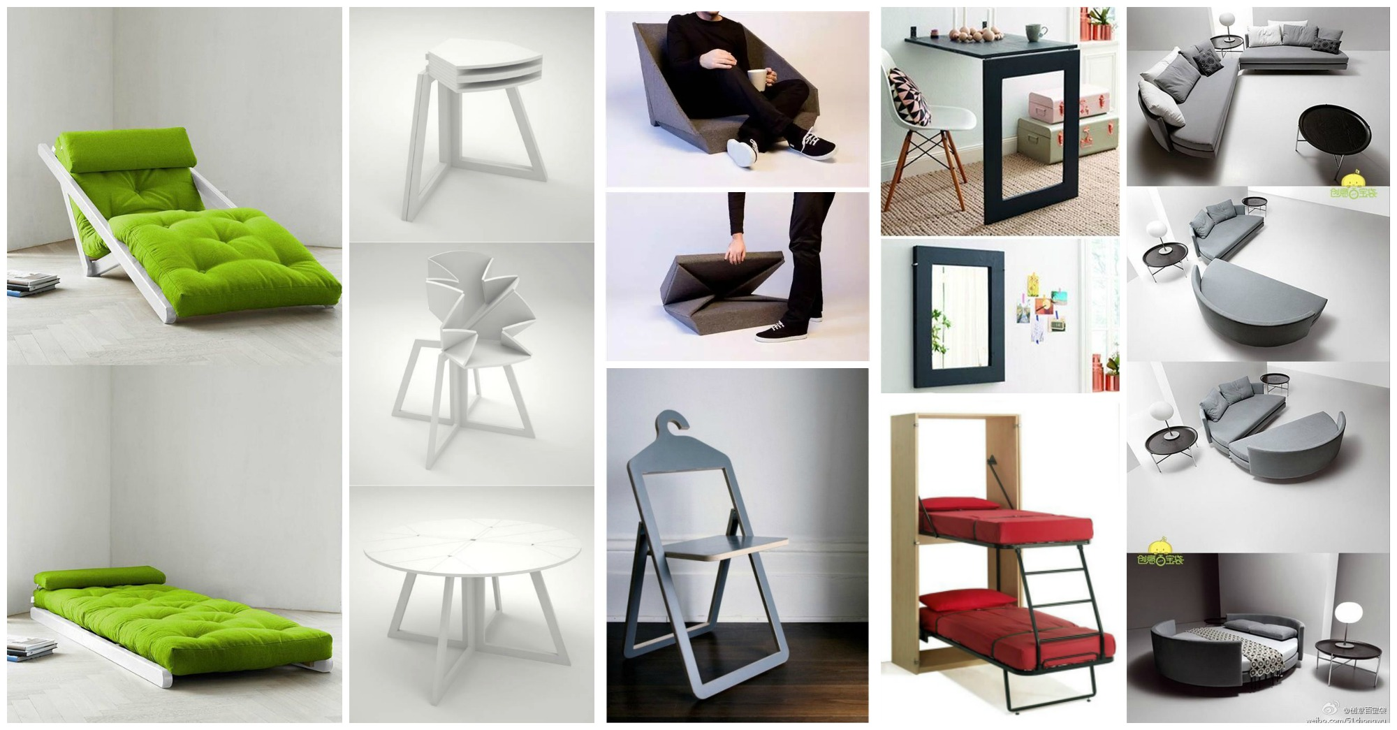 15 Superb Folding Furniture Ideas To Save Space