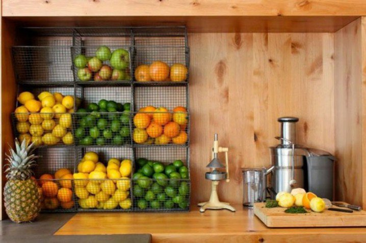 10+ Amazing Fruit And Vegetables Storage Ideas