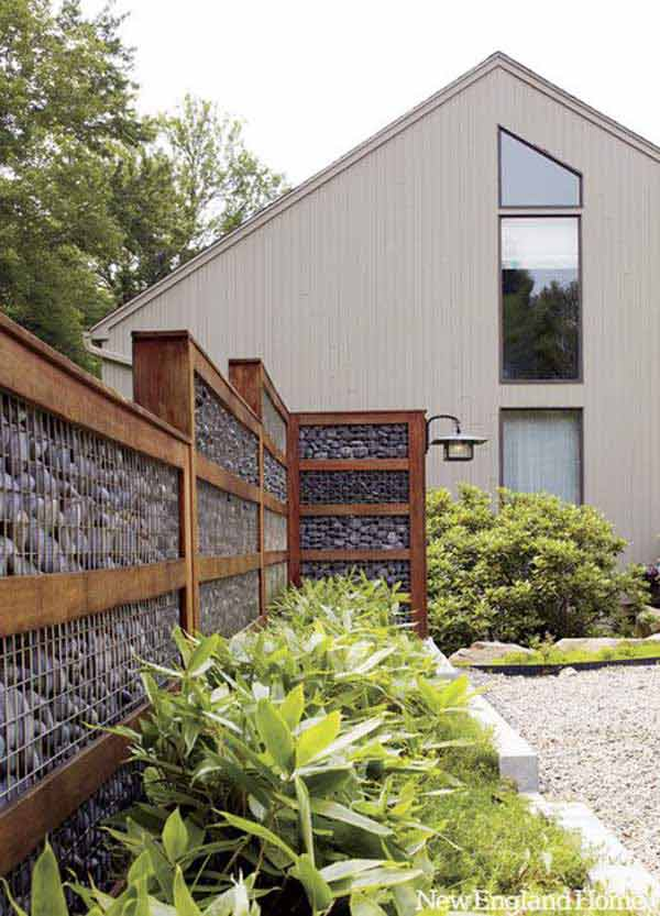 20+ Lovely DIY Gabion Ideas To Enhance Outdoor Space