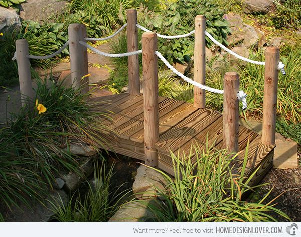 15+ Charming Garden Bridges That Will Crush Your Heart