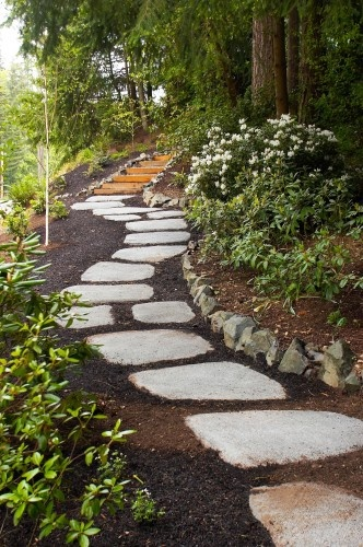 15+ Awesome Garden Decor With Stones