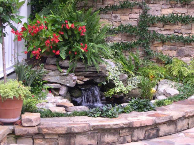 garden fountains and water ponds 10