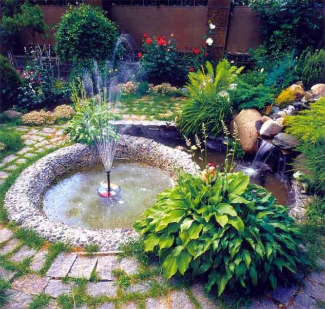 garden fountains and water ponds 13