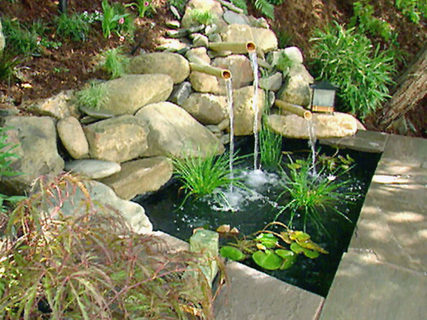 garden fountains and water ponds 16