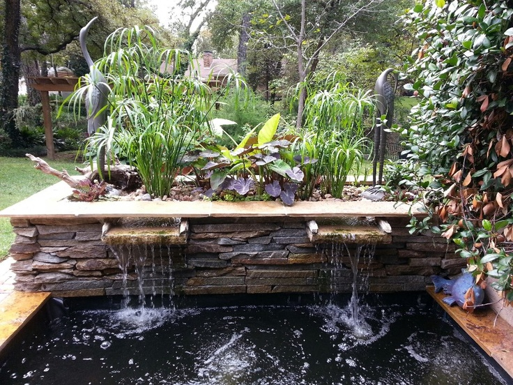garden fountains and water ponds 17