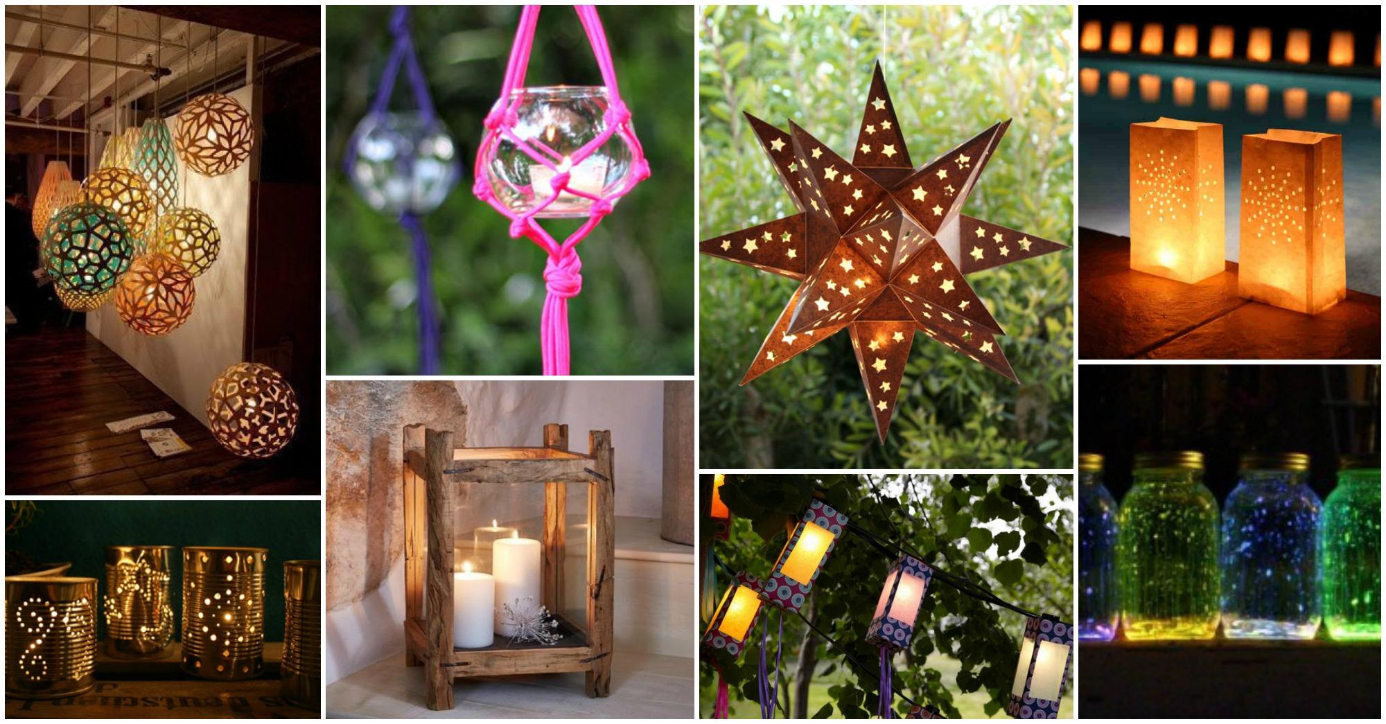 15 diy garden lantern ideas for Diy lantern lights