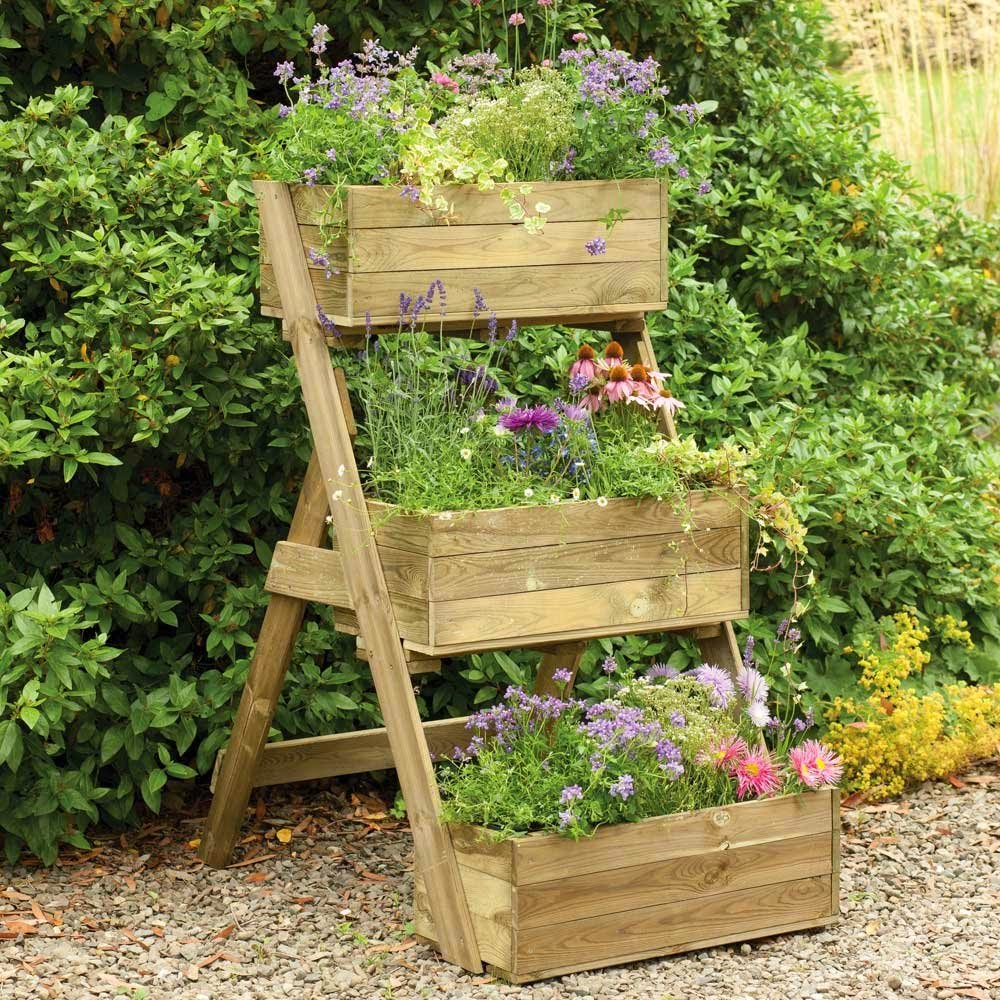 Planter Garden Ideas 15 fascinating garden planter ideas workwithnaturefo