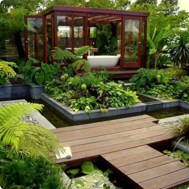 15+ Superb Garden Retreat Designs