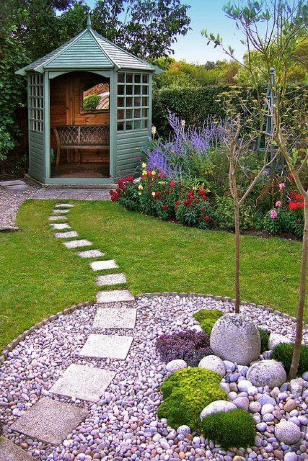 Superb Garden Retreat Designs