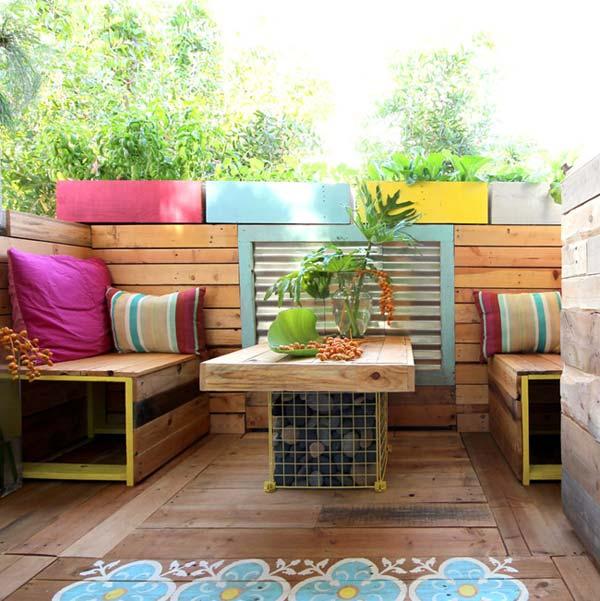 garden seating 13