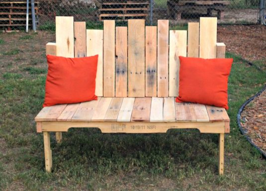 Awesome Outside Seating Ideas with Recycled Items