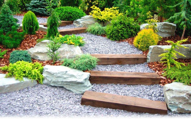garden stones rocks 1